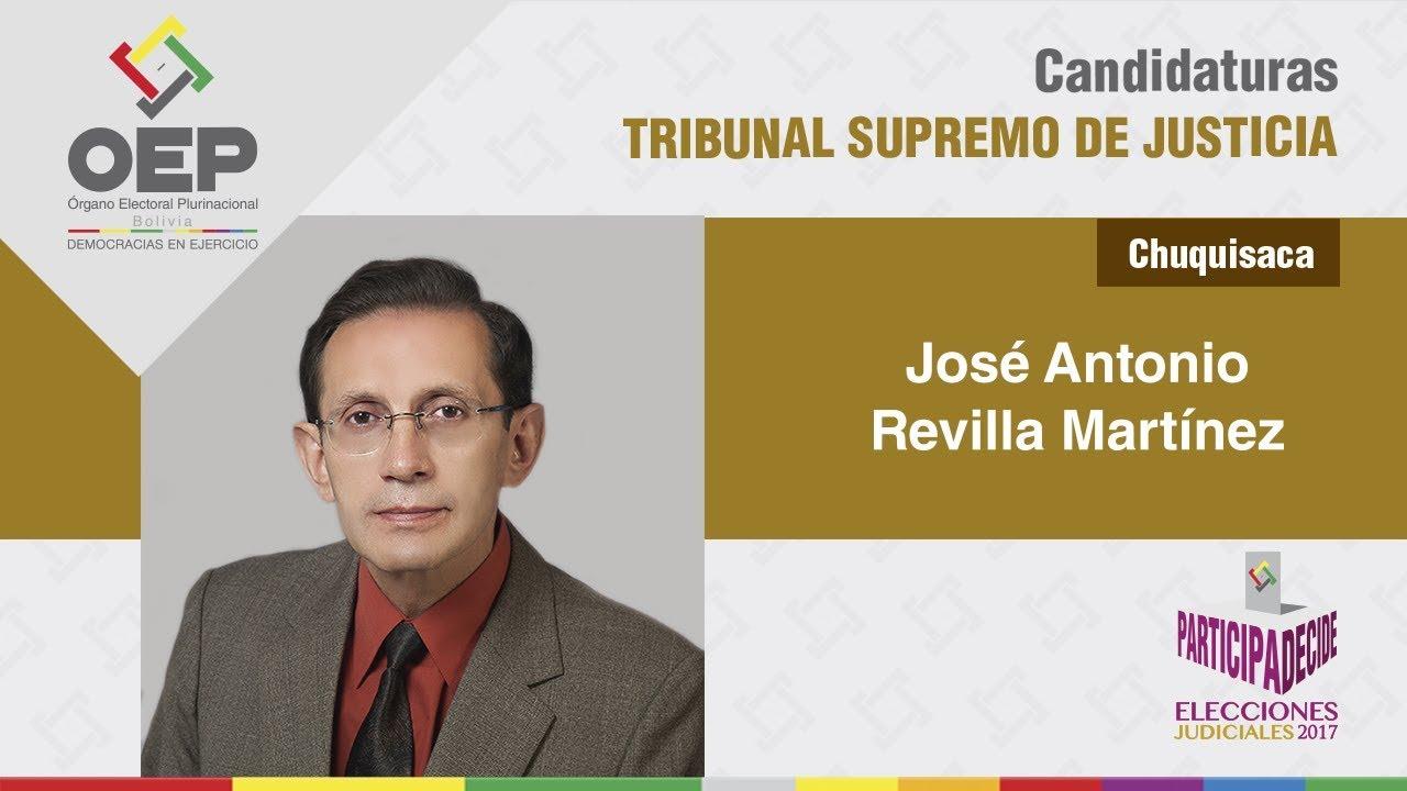 Eligen a José Antonio Revilla como presidente del Tribunal Supremo de Justicia