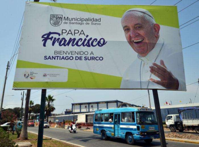 El papa visita Chile y Perú para defender a los indígenas y a los excluidos