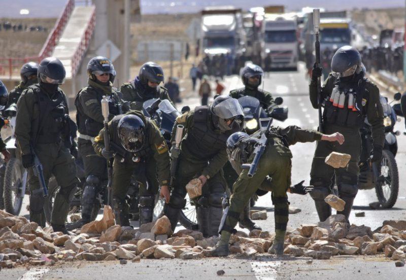 El Gobierno instruye a la Policía no permitir ningún bloqueo