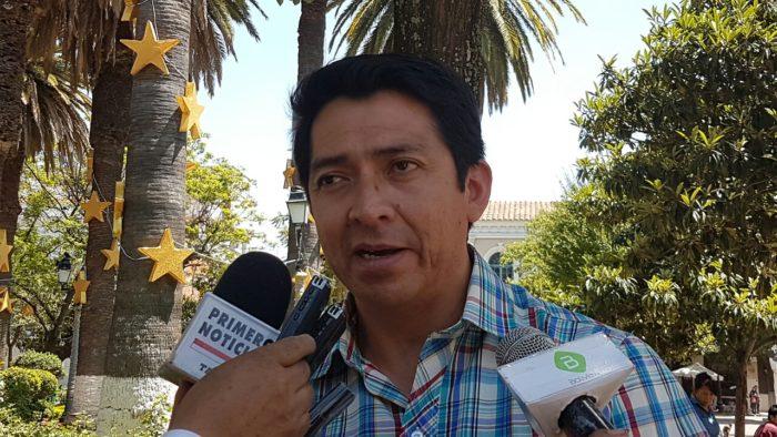 Ministerio de Trabajo en Tarija dice que instituciones obligan a funcionarios a participar en el paro