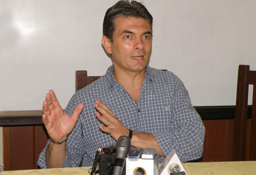 Alcalde se reúne con dirigente de los mercados Campesinos y Abasto del  Sur de Tarija