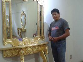 Pavel Santos presenta sus obras en la Casa de la Cultura