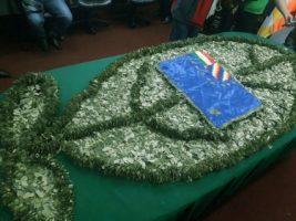Productores usarán 250 libras de coca para armar bandera de la reivindicación marítima