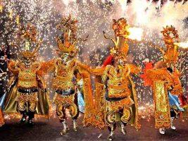Carnaval de Oruro en Bolivia 2018 Foto: Prensa Latina