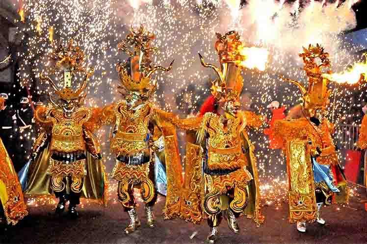 Ministra de Culturas afirma que el Carnaval de Oruro superó número de visitantes y recaudaciones