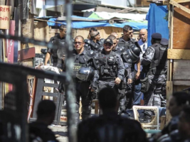 Privados de libertad en la cárcel de Brasil