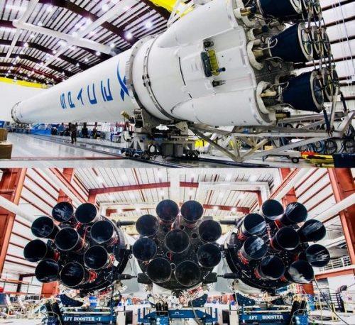 Falcon Heavy de Space X: se lanzó al espacio el cohete más potente del mundo