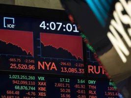 El Dow Jones sufrió su caída más fuerte desde junio de 2016 Wall Street cerró con fuertes pérdidas y el índice cayó un 2,54%