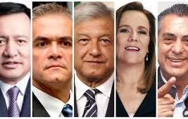 Candidatos a la presidencia de México./Foto: Archivo El-mundo-de-Orizaba