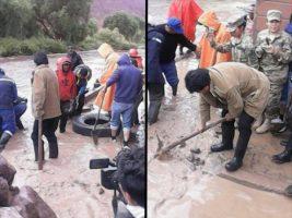 Evo Morales anuncia la construcción de viviendas en Tupiza