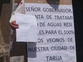 El asambleísta por el MAS, Ervin Mancilla, ha reclamado que se priorice el proyecto de la PTAR para Tarija