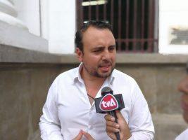 El Concejal Alan Echart ha criticado la protesta del asambleísta Ervin Mancilla