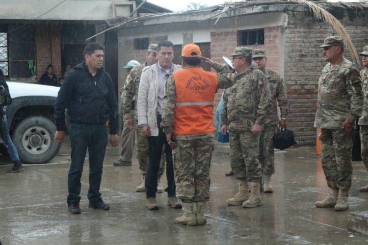Defensa Civil dotó a la fecha cerca de ocho toneladas de vituallas a zonas de desastre