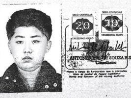 La foto de Kim Jong-un en el pasaporte brasileño