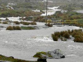 Declaran desastre a 11 comunidades en la vía a Zongo de La Paz