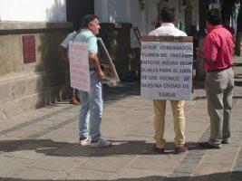 Uno de los miembros del Comité Impulsor de la PTAR, Ricardo Pacheco, exhorta a la autoridades agilizar el proyecto