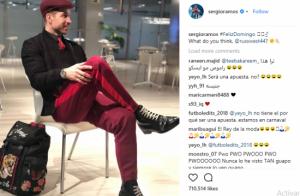 Sergio Ramos genera polémica en las redes sociales