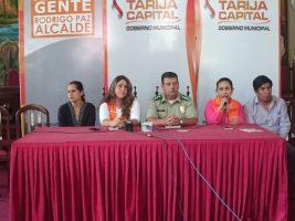 Las instituciones de control de Tarija lanzan el Plan de Seguridad para Comadres