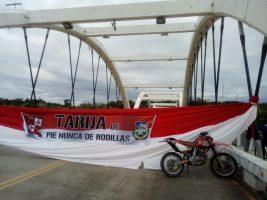 La ciudad de Tarija bloqueada en protesta por la repostulacion del presidente Evo Morales