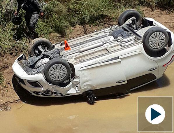 Un conductor cae al Guadalquivir a la altura del puente Bolívar en Tarija
