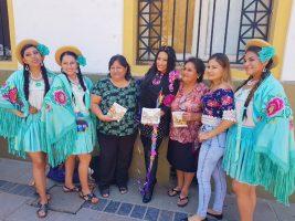 Ministra de Cultura Wilma Alanoca en Tarija