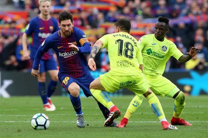 El Barça empata 0-0 en casa con el Getafe en liga española