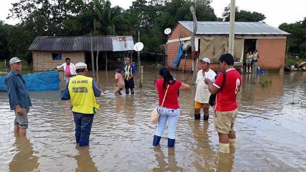 CAF donará $us 100.000 a Bolivia para atender a familias damnificadas por las inundaciones