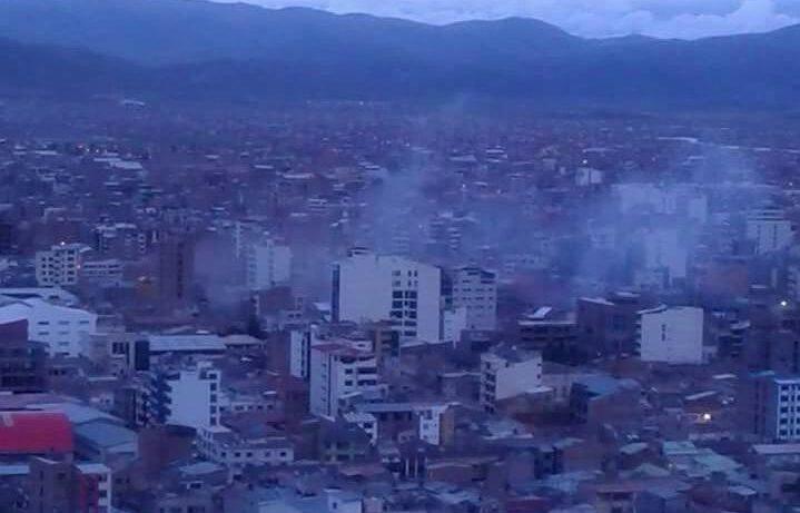 El gobernador de Oruro descarta fuga de gas y habla de posible atentado