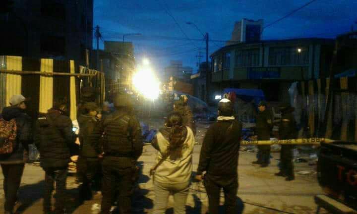 Dos de los heridos de la explosión en Oruro se encuentran graves y entraron a quirófano