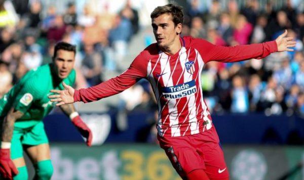 Atlético gana y sigue a la caza del Barcelona en liga española; Real Madrid golea