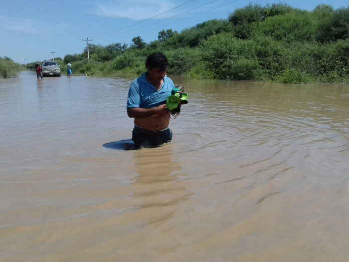 La Gobernación de Tarija dota víveres y medicamentos a damnificados del Chaco