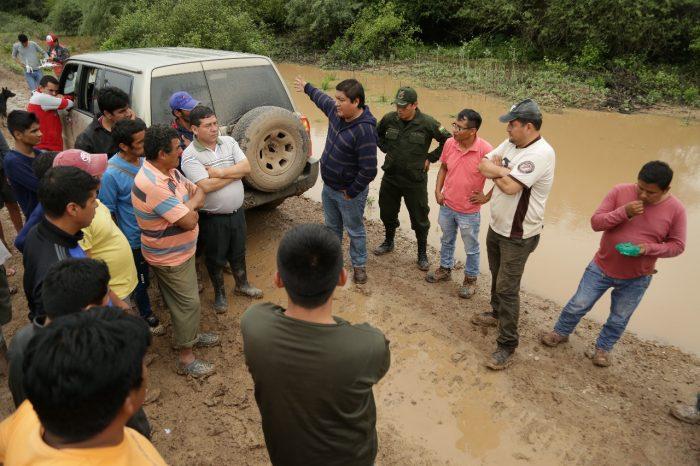 Gobierno regional del Chaco asignará recursos para atender zonas afectadas por las riadas