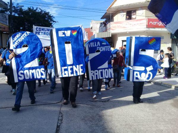 MAS continúa inscripción de militantes en el distrito 9 de la ciudad de La Paz