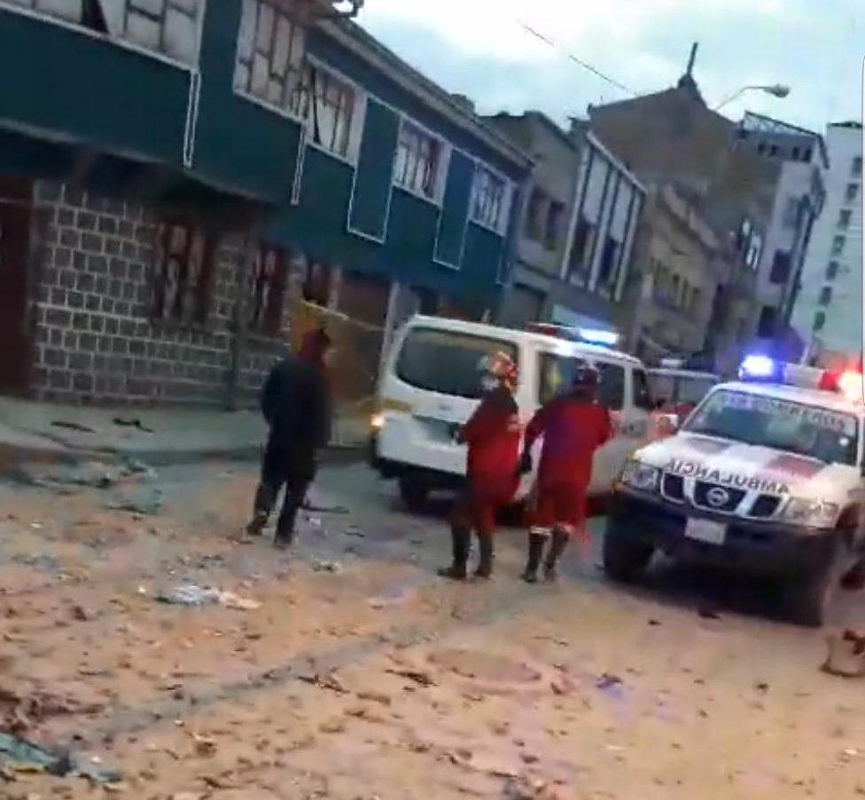 Reportan nueva explosión de gas en Oruro con más fallecidos