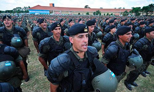 Un cadete de policía muere por entrenamiento extremo en Argentina