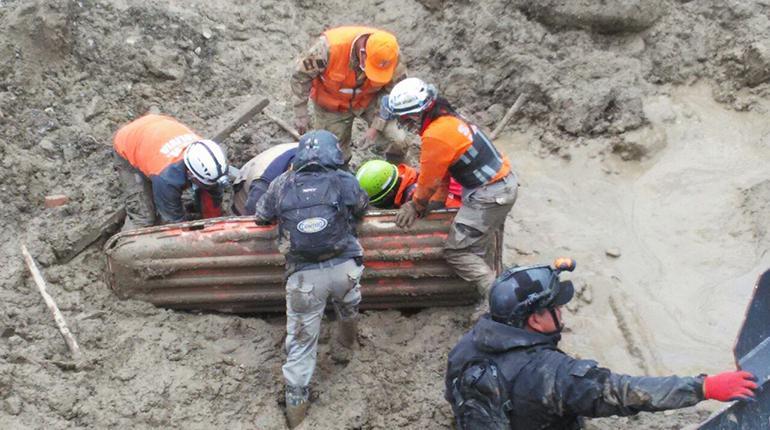 Encuentran a la quinta víctima del desastre de Tiquipaya
