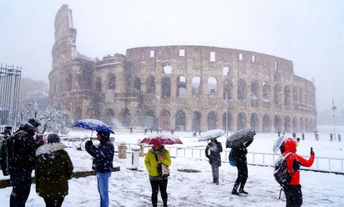 Una ola de frío siberiano recorre Europa