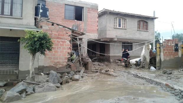 Suman más de 10.000 familias afectadas por las lluvias en todo el país