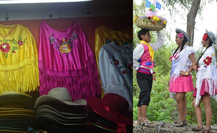 La ropa típica chapaca, una seña de identidad que perdura por los años y reluce en el carnaval