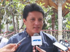El secretario de Coordinación de la Gobernacion de Tarija Waldemar Peralta