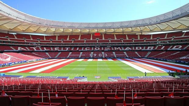 Estadio del Atlético Madrid será sede de la final de Copa del Rey entre Barca y Sevilla