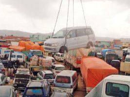Contrabando de vehículos en Oruro