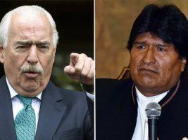 Expresidente de Colombia y el presidente de Bolivia