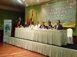 En Tarija CNS presentó su rendición de cuentas de la gestión 2017