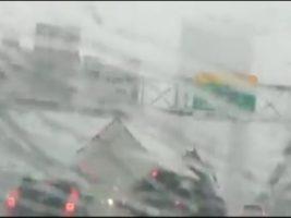 La furia del viento aterrorizó a Nueva York