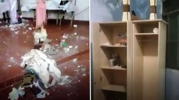 Iglesia denuncia profanación en la capilla de la cárcel de Palmasola
