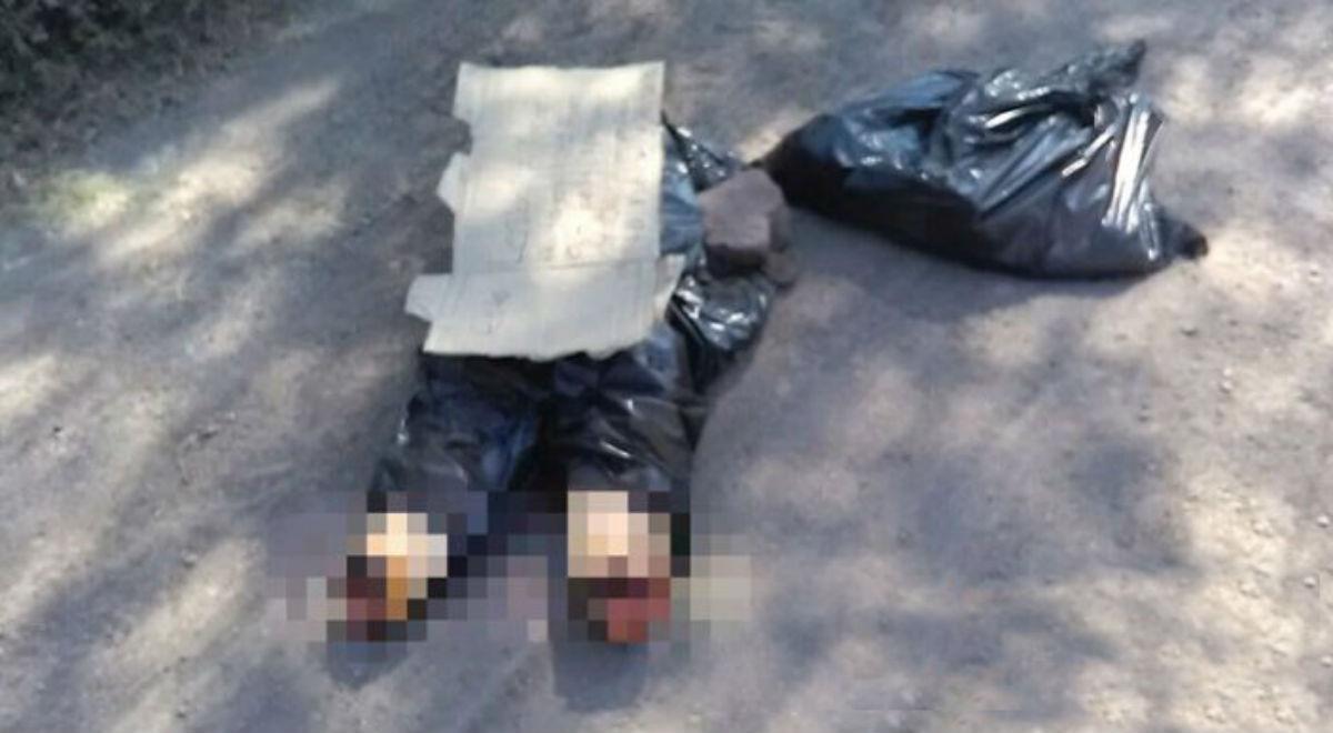 Guerra narco: hallaron dos cuerpos descuartizados dentro de bolsas negras en Puebla
