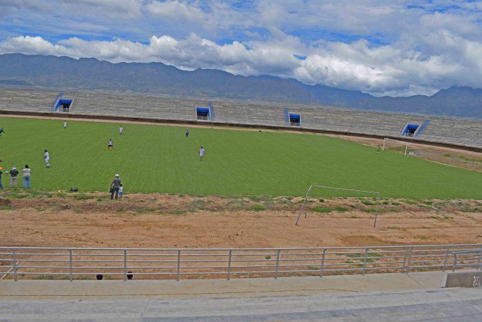 El estadio El Tonel de El Valle será inaugurado el 7 de abril