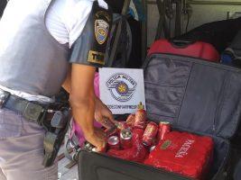 Boliviano cae en Brasil con 13 kilos de cocaína ocultos en latas de cerveza