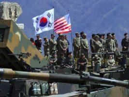 Corea del Sur y Estados Unidos comienzan sus maniobras conjuntas